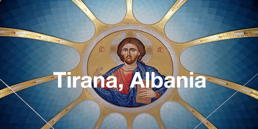 Cheap flight tickets to Tirana Albania - Jesus in church