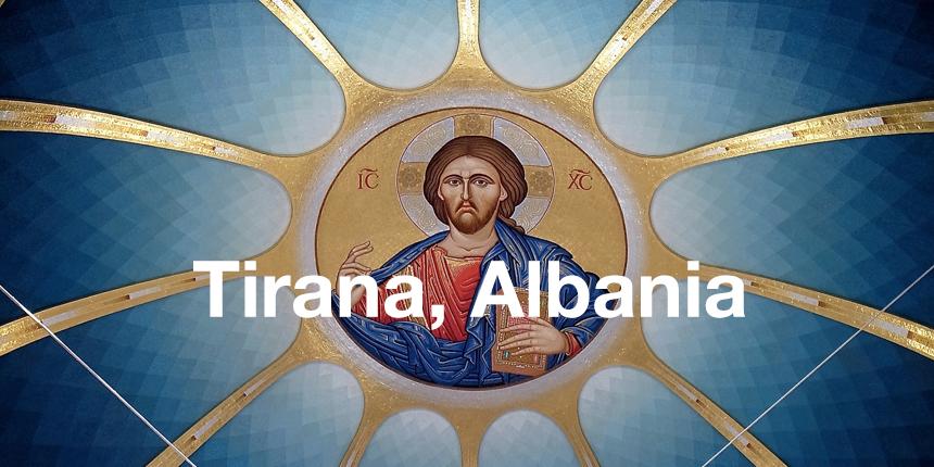 Cheap flight tickets to Tirana Albania - Jesus in church
