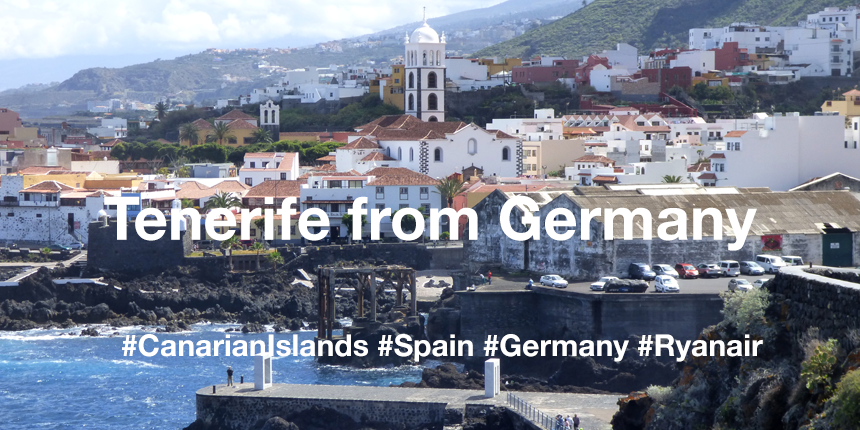 Cheap flight tickets from Berlin to Tenerife